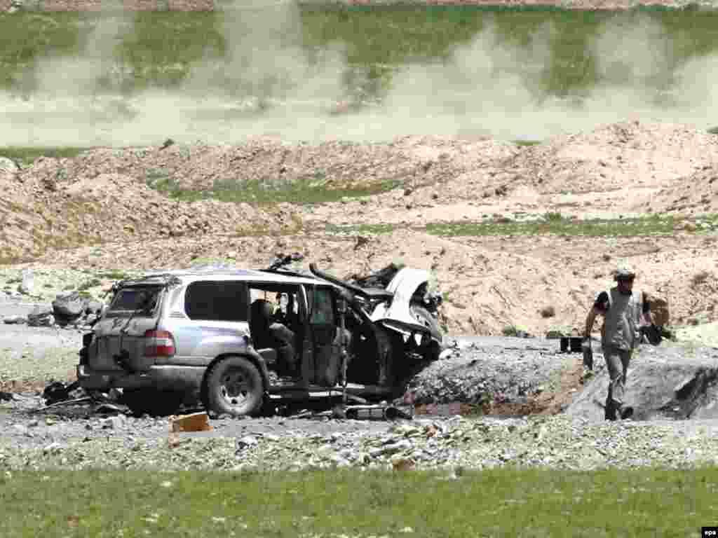 Два гражданина США погибли в результате теракта на трассе Кабул-Баграм