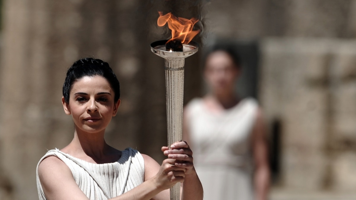 Олимпийский огонь в древней греции картинки