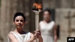 2012 йилги Лондон Олимпиадаси машъаласи.