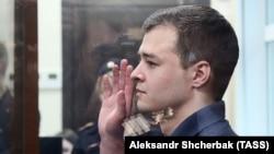 Никита Чирцов в суде