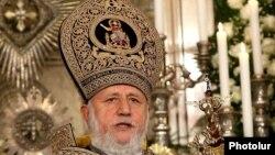 Католикос всех армян Гарегин Второй (архив)