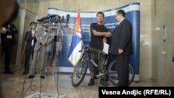 Srbija: Japancu vraćen ukradeni bicikl
