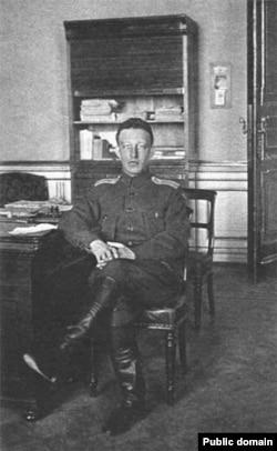 Александр Блок «Кышкы сарайда». 1917-жыл.