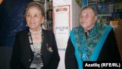 Зәкия Мортазина (с) һәм Тәнзилә Әхәтова
