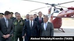 Путин в Казани. Май 2019 года.