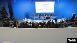 The International Economic Forum opened in St.Petersburg on June 4.