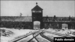 Влезот на еден контрационен логор во Германија