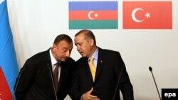 Ильхам Алиев и Реджеп Таййиб Эрдоган
