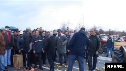 Протест на овоштарите од Преспа