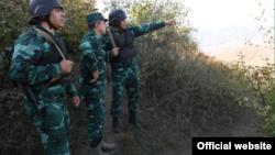 Азербайджанские пограничники (иллюстративное фото)