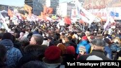 """Митинг """"За честные выборы"""". Москва, Новый Арбат, 10 марта 2012года"""