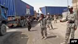 Авганистански граничари.