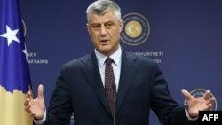 Шефот на косовската дипломатија Хашим Тачи