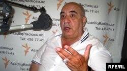 Яшар Нури в студии РадиоАзадлыг, Баку, 2 июля 2010