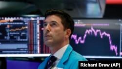 Bursa de la New York unde sunt cotate cele mai mari companii din lume