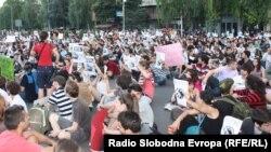 Протестите против полициска бруталност на 10 јуни 2011.