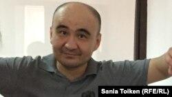 Макс Боқаев сот залында. Атырау, 18 қараша 2016 жыл.