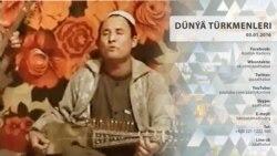 Daşarda ýaňlanýan türkmen aýdymy
