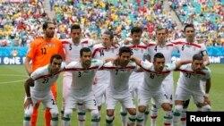 تیم ملی فوتبال ایران در بازی جام جهانی ۲۰۱۴ در برزیل