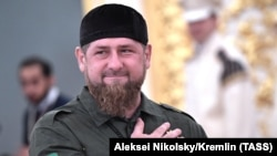 Chechen leader Ramzan Kadyrov (file photo0