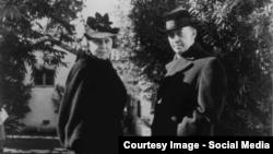 """Serghei și Natalia Rahmaninov la """"Senar"""" în anii 1930 (Foto: Rachmaninoff network/FB)."""