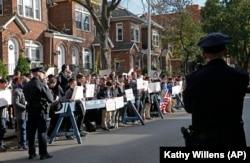 Протест біля будинку Якова Палія