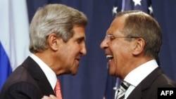 Жон Керри менен Сергей Лавров, Женева, 14-февраль, 2013-жыл