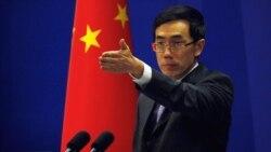 Портпаролот на кинеското Министерство за надворешни работи Лиу Веимин.