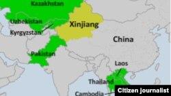Ряд стран, граничащих с Китаем, уже экстрадировали уйгуров
