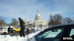 Вашингтон после снежной бури, 8 фвраля 2010 года