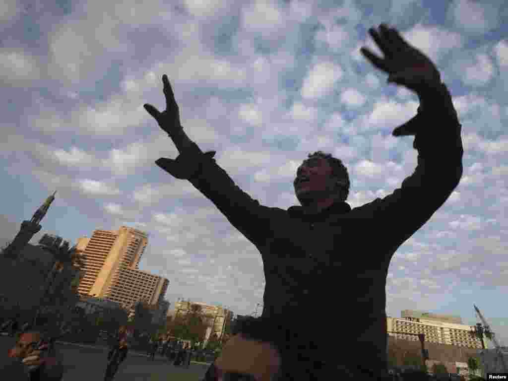Veliki protestni ¨milionski marš ¨, Kairo, 01.02.2011. Foto: Reuters / Suhaib Salem