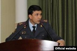 Умарҷони Эмомалӣ, сухангӯи вазорати умури дохилии Тоҷикистон.