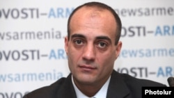пресс-секретарь президента Армении Арман Сагателян