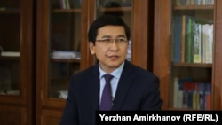 Қазақстан білім және ғылым министрі Асхат Аймағамбетов.