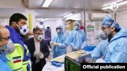 Госпиталь в Куме принимает пациентов, инфицированных коронавирусом, февраль 2020