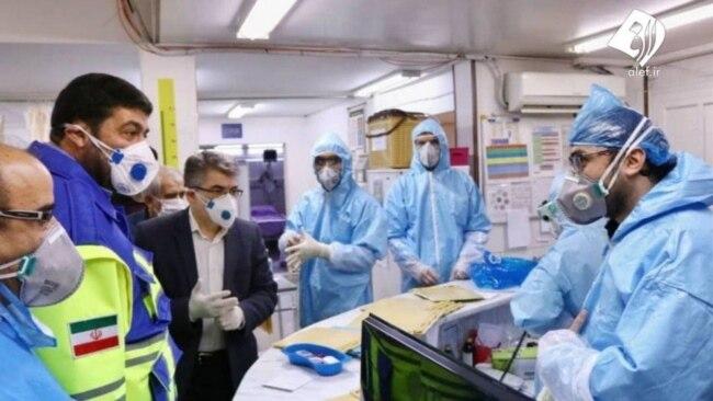 بازدید رئیس اورژانس کشور از بیمارستان قرنطینه کرونا در قم