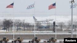 Чикаго аэропорту