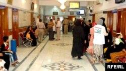 في مستشفى العروبة بمدينة العمارة
