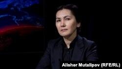 Қырғызстанның бұрынғы бас прокуроры Аида Салянова. Бішкек, 22 ақпан 2018 жыл.