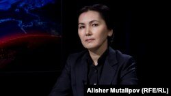 Gyrgyzystanyň ozalky baş prokurory Aida Salýanowa (arhiw suraty)
