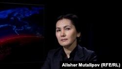 Аида Салянова. Архивдик сүрөт.