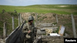 Dağlıq Qarabağda erməni artileriyası, 7 aprel, 2016