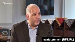 Сопредседатель совета попечителей Армянской Ассамблеи Америки Энтони Барсамян, Ереван, 12 марта 2019 г.
