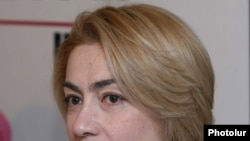 Armenia -- Amalia Kostanian, chairwoman of Anti-Corruption Center, the Armenian affiliate of Transparency International.