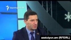 «Ելք» դաշինքի պատգամավոր Գևորգ Պետրոսյանը «Ազատության» ստուդիայում: