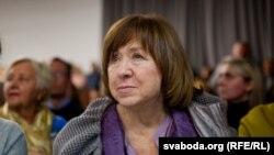 Светлана Алексиевич, писатель из Беларуси, лауреат Нобелевской премии