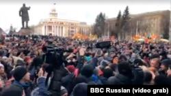 Несанкционированный митинг в Кемерове, иллюстративное фото