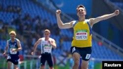 Ігор Цвєтов здобуває золото в бігу на 200 м, Ріо-де-Жанейро, 12 вересня 2016 року