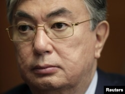 БҰҰ бас хатшысының орынбасары Қасым-Жомарт Тоқаев. Женева, 11 мамыр 2011 жыл.