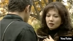 Актриса Венера Нигматулина в роли Мадины в телесериале «Перекресток».